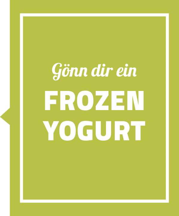 frozen yogurt bestellen